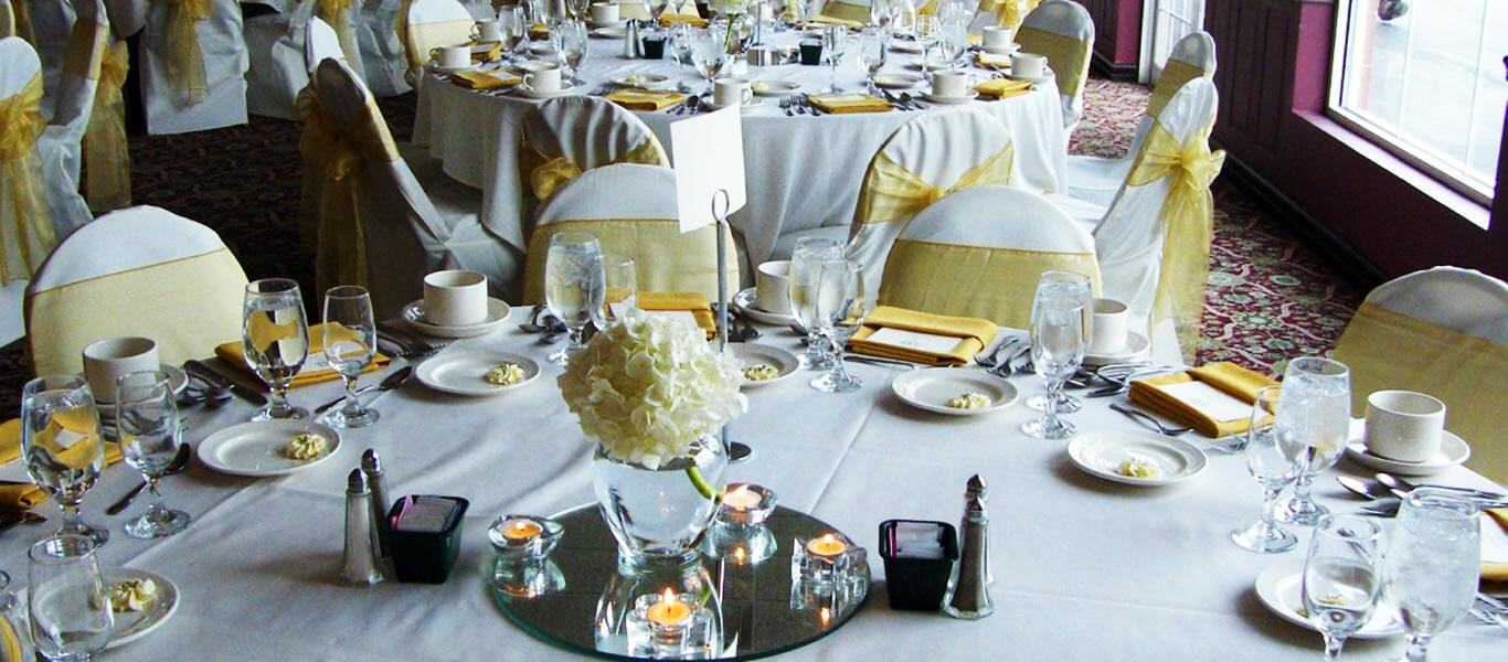 banquet hall booking information