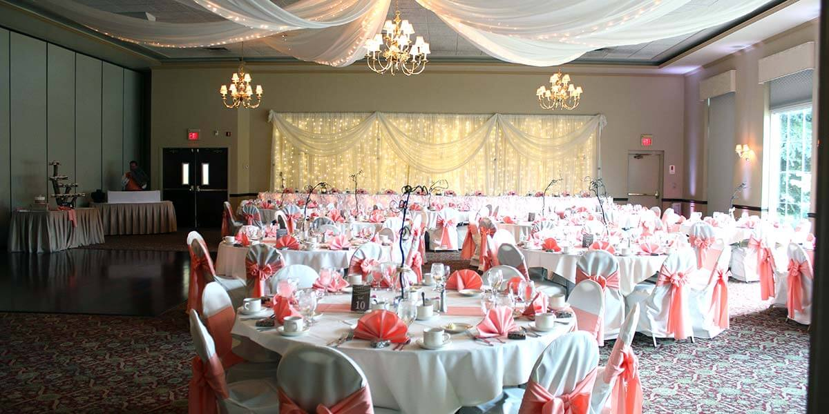 wedding reception at Michael's Catering & Banquets